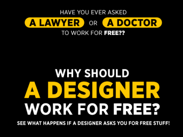 Should designer work for free