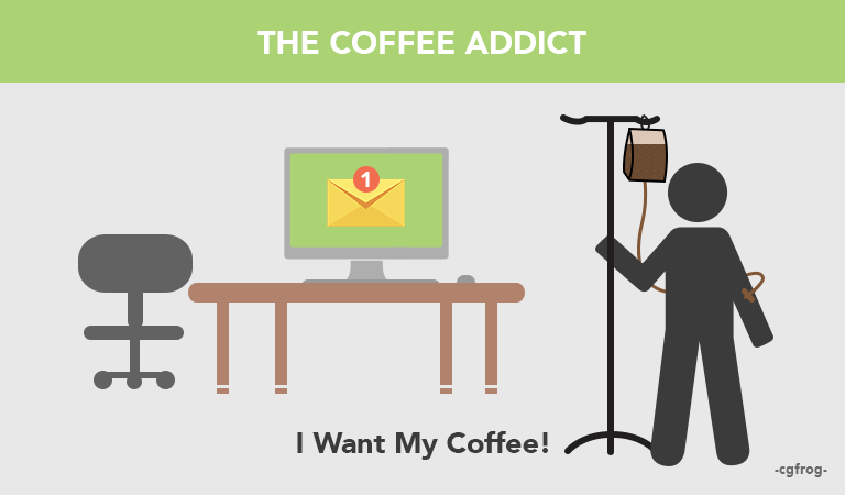Types of Graphic Designers Coffee Addict