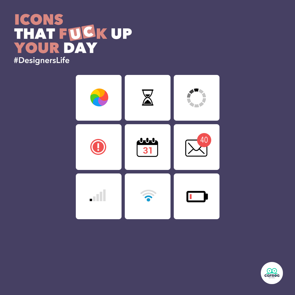 Daily Dose: Icons That F**k Up Your Days