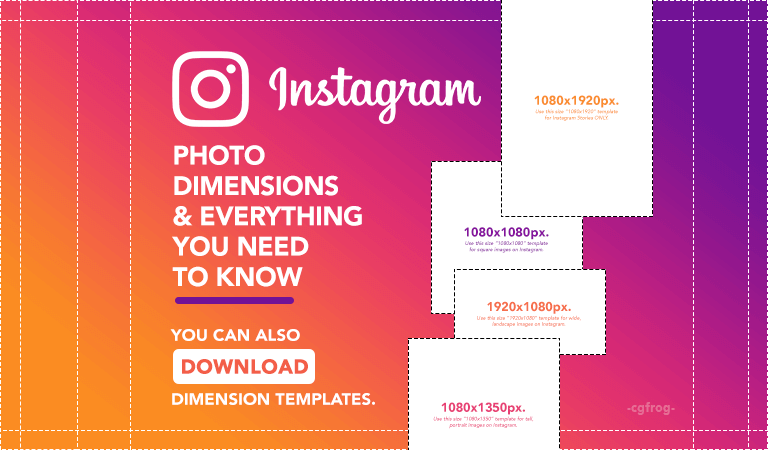 Instagram Photo Dimensions