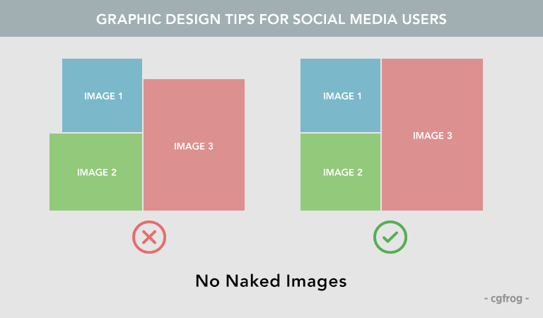 Graphic Design Tips for Social Media Users No Naked Images
