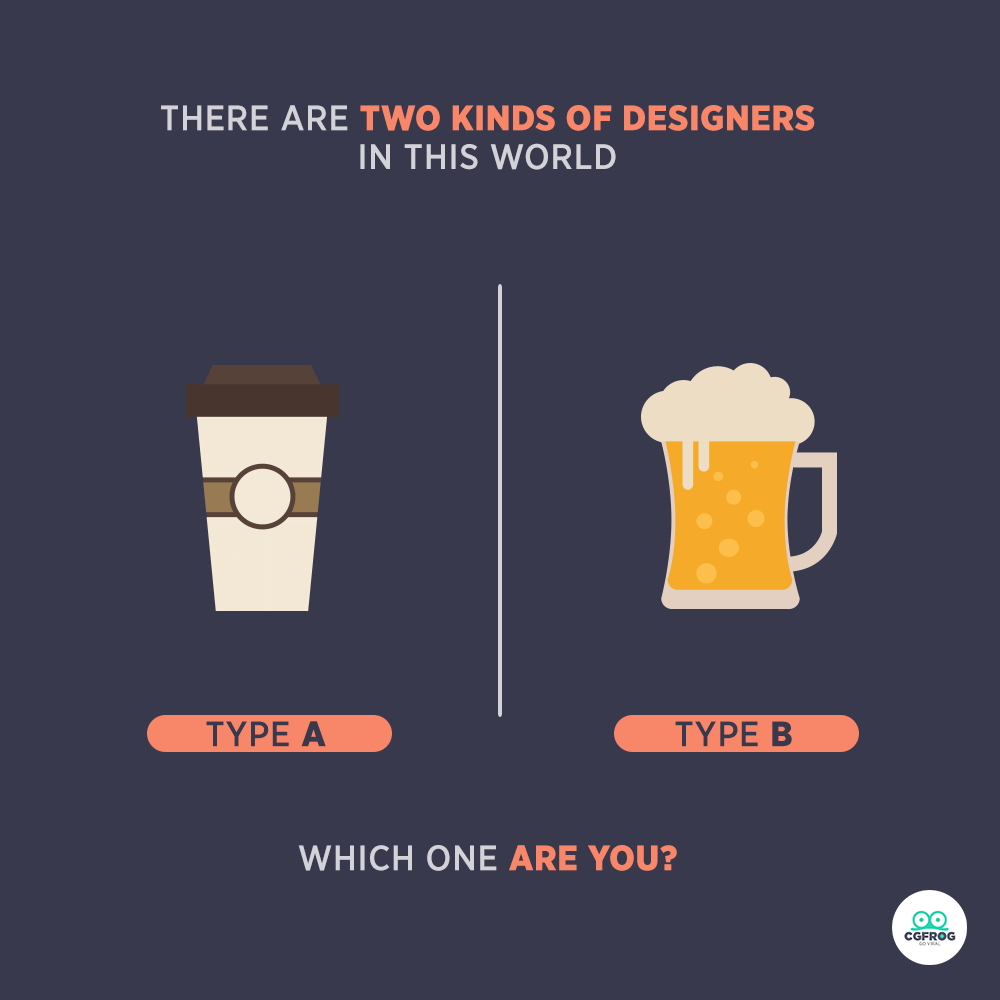Types of Designers COFFEE and BEER