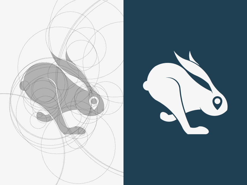 Creative Rabbit Logo Design Examples by Davide Fisciano
