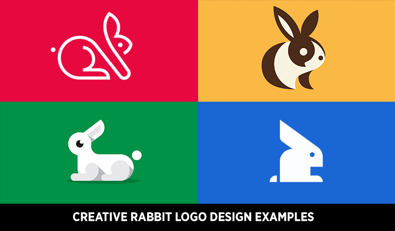 Creative Rabbit Logo Design Examples for Your Inspiration