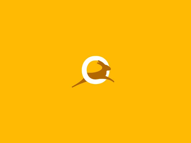 Creative Rabbit Logo Design Examples by Alex Tass