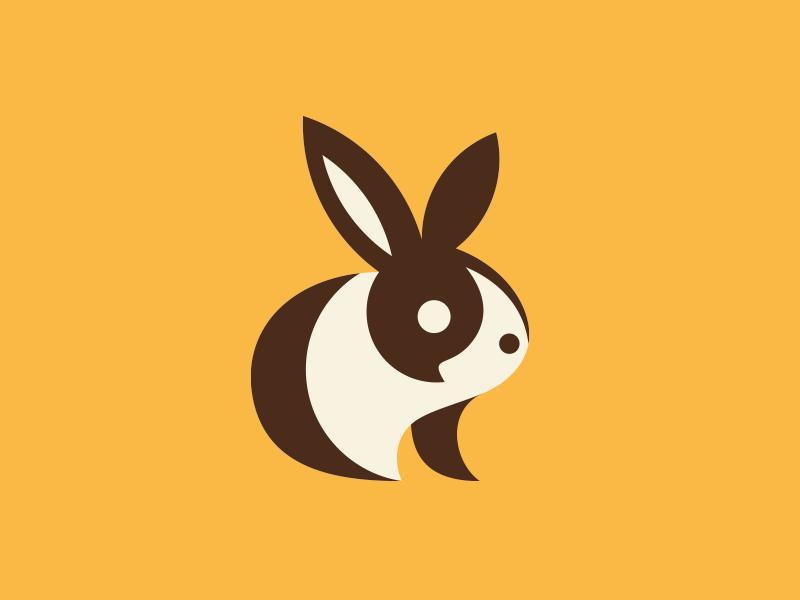 Creative Rabbit Logo Design Examples - Bunny by MarkFly