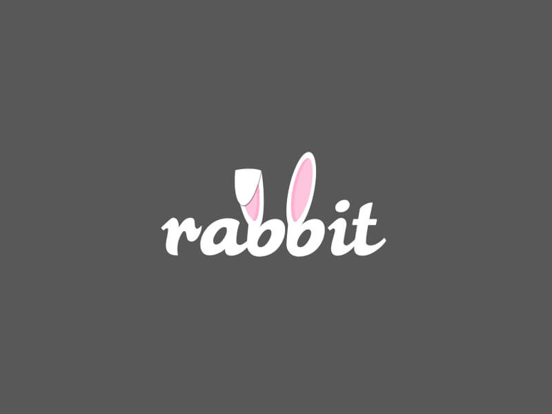 Creative Rabbit Logo Design Examples by Ina Basholli