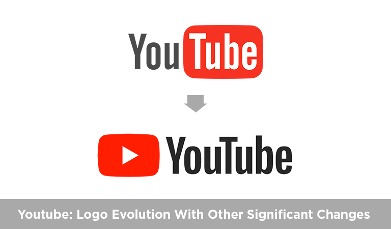 Youtube New Logo Evolution