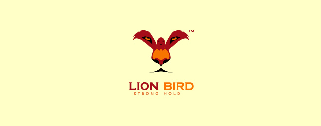 Lion Bird Lion Logo Design Examples