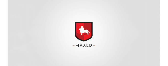 Haxed Lion Logo Design Examples
