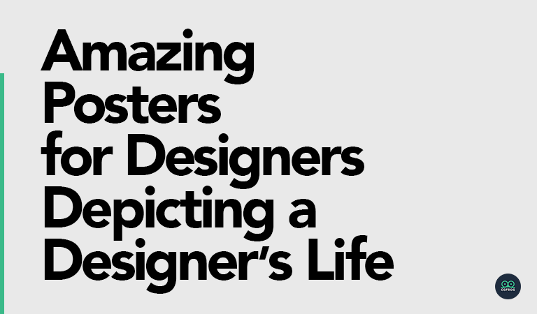 Amazing Posters for Designers Depicting a Designer's Life