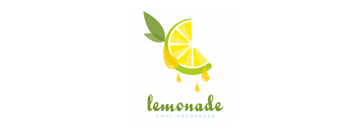 Lemonade Fruit Logo Design
