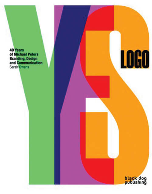 Yes Logo 40 Years of Michael Peters Branding-Logo Design Books