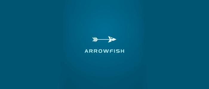 Arrow Fish Logo Design