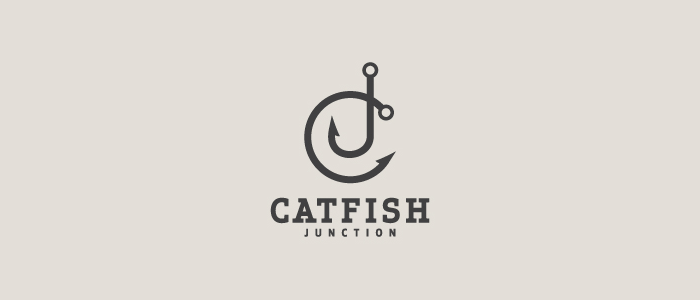 Cat Fish Logo Design By 9t6