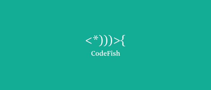 Code Fish Logo Design by Mabu