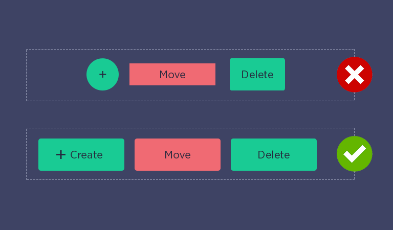 How To Design Better Buttons-Design Consistency