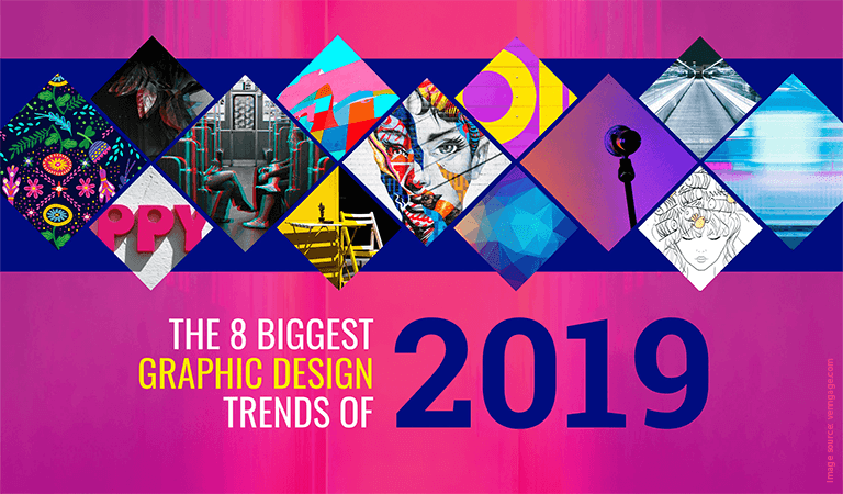New Graphic Design Trends 2019