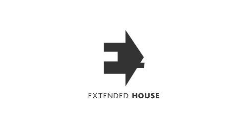 Best New Negative Space Logo Designs Extented House Designer-aHizab