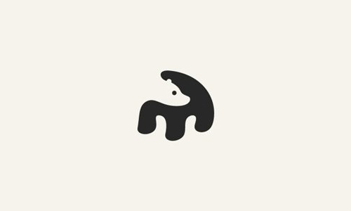 Best New Negative Space Logo Designs The Panda Designer- George Bokhua