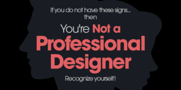 Recognize yourself as a professional graphic designer