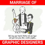 Marriage of Graphic Designers